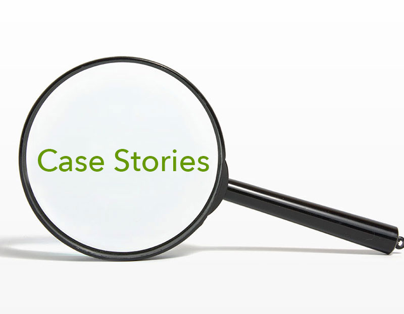 See our Case Stories